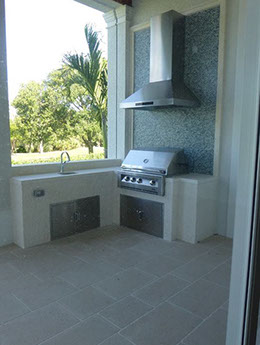 Outdoor Range Hood South Florida