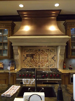 Kitchen Range Hood Palm Beach